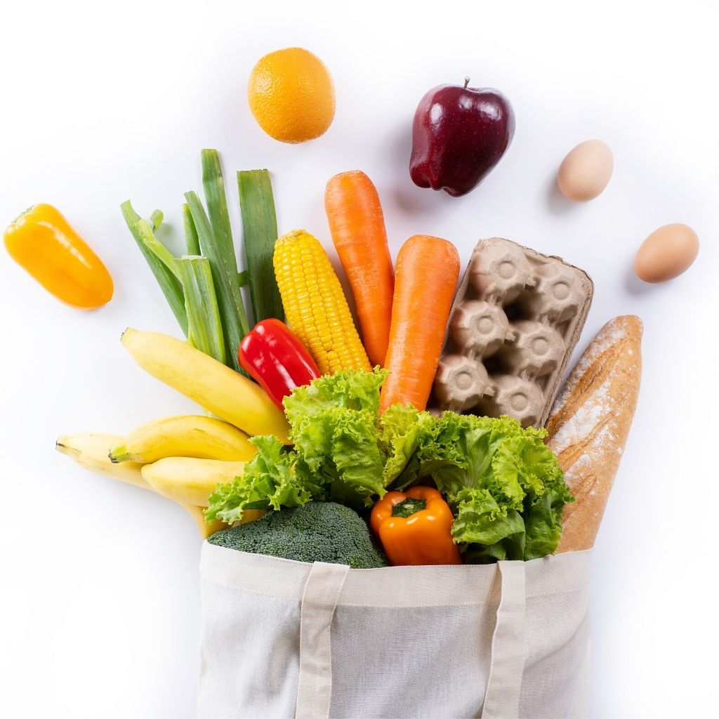Tips for healthy grocery shopping!